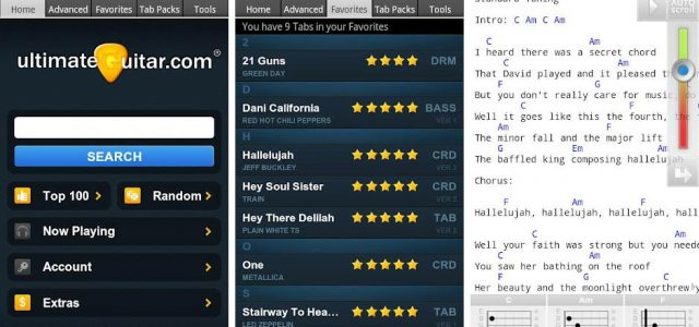 Ultimate Guitar Tabs App Know Your Instrument