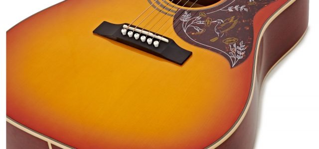 Epiphone Hummingbird Pro Acoustic Guitar Full Review