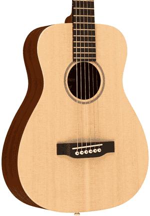 Martin LX1E acoustic travel guitar