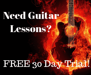 Guitar lessons banner