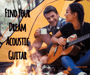 acoustic guitar banner